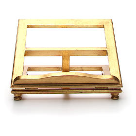 Pupitre de table en bois feuille d'or s5