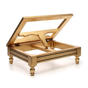 Book stand made with gold leaf s3