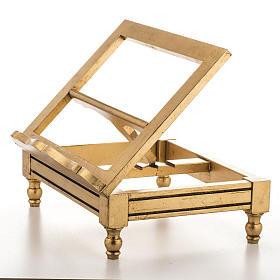 Atril de mesa hoja de oro s4