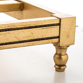 Atril de mesa hoja de oro s5