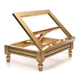Estante de mesa folha ouro s4