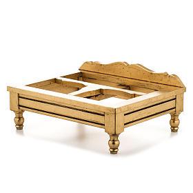 Estante de mesa folha ouro s5