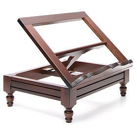 STOCK Atril de mesa madera oscura s4