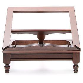 STOCK Pupitre de table bois foncé s1