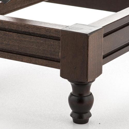 STOCK Pupitre de table bois foncé 7