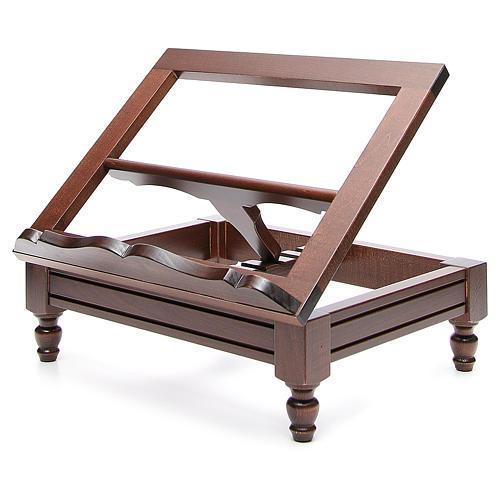 STOCK Pupitre de table bois foncé 2