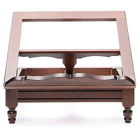 STOCK Book stand in dark wood s2