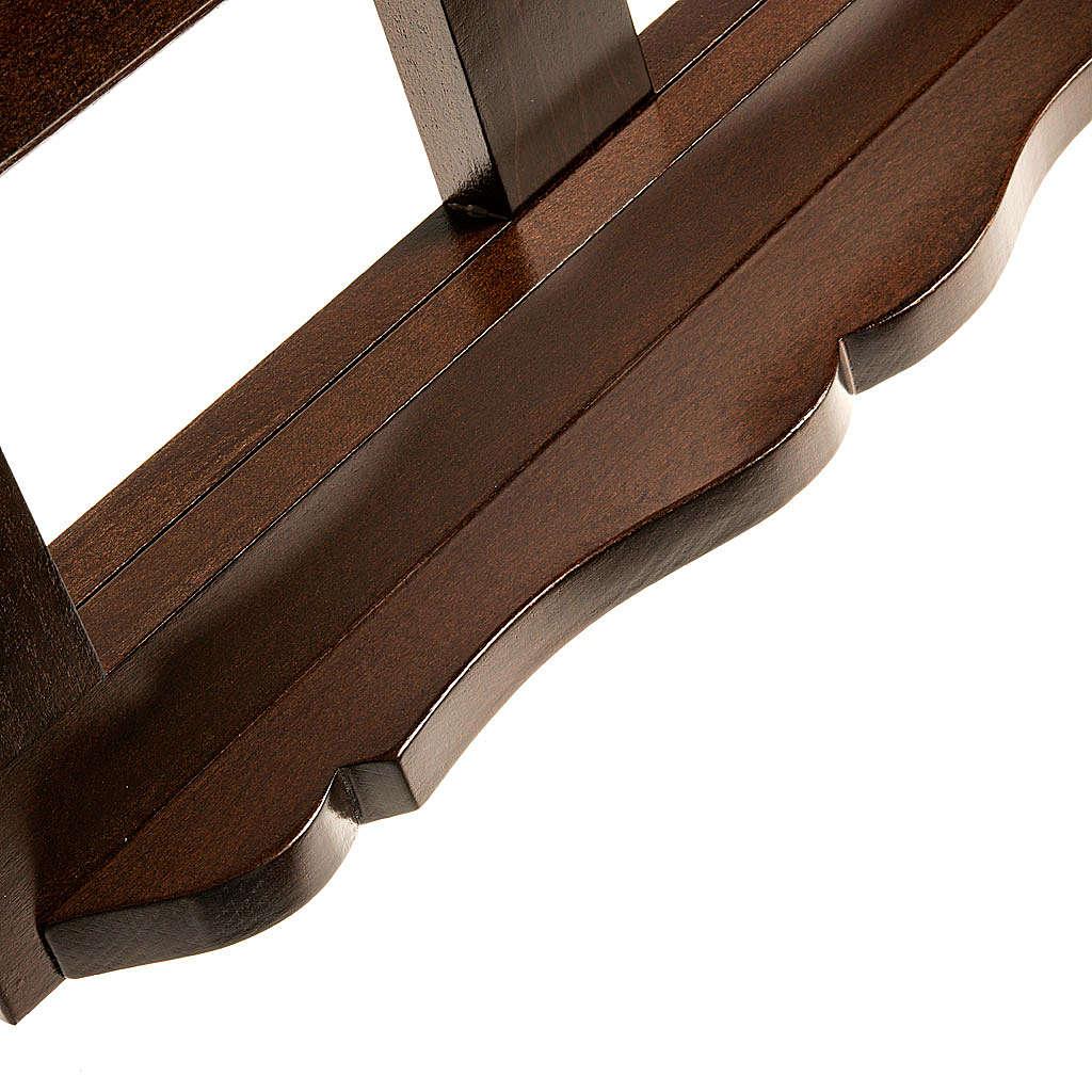 Leggio legno scuro 30x40 4