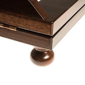 Leggio legno scuro 30x40 s5