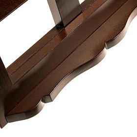 Leggio legno scuro 30x40 s6
