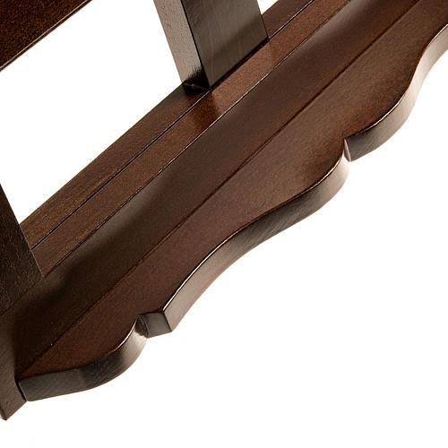Leggio legno scuro 30x40 6