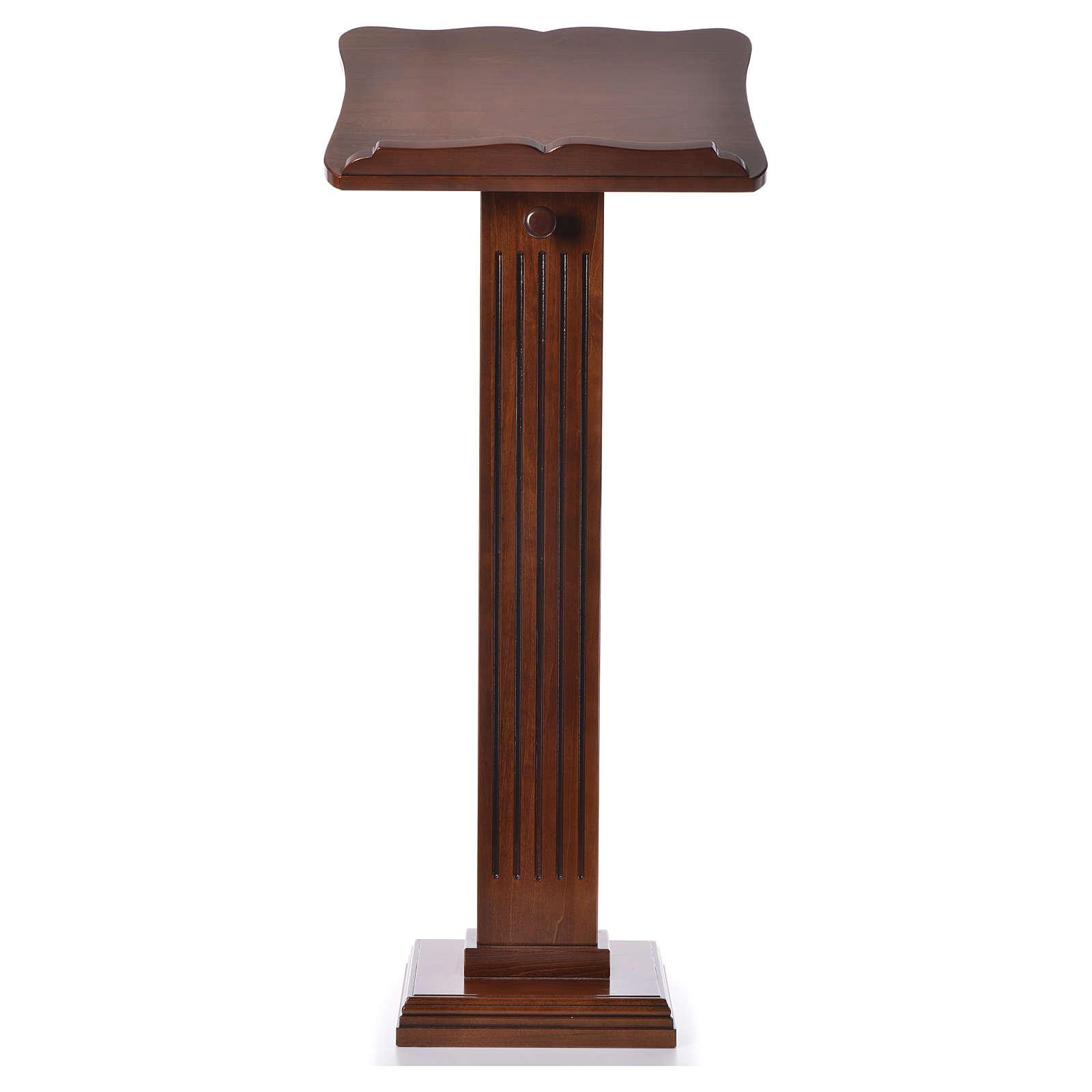Ambón pequeño de madera de nogal color nogal glaseado 4