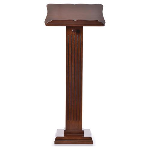 Ambón pequeño de madera de nogal color nogal glaseado 1