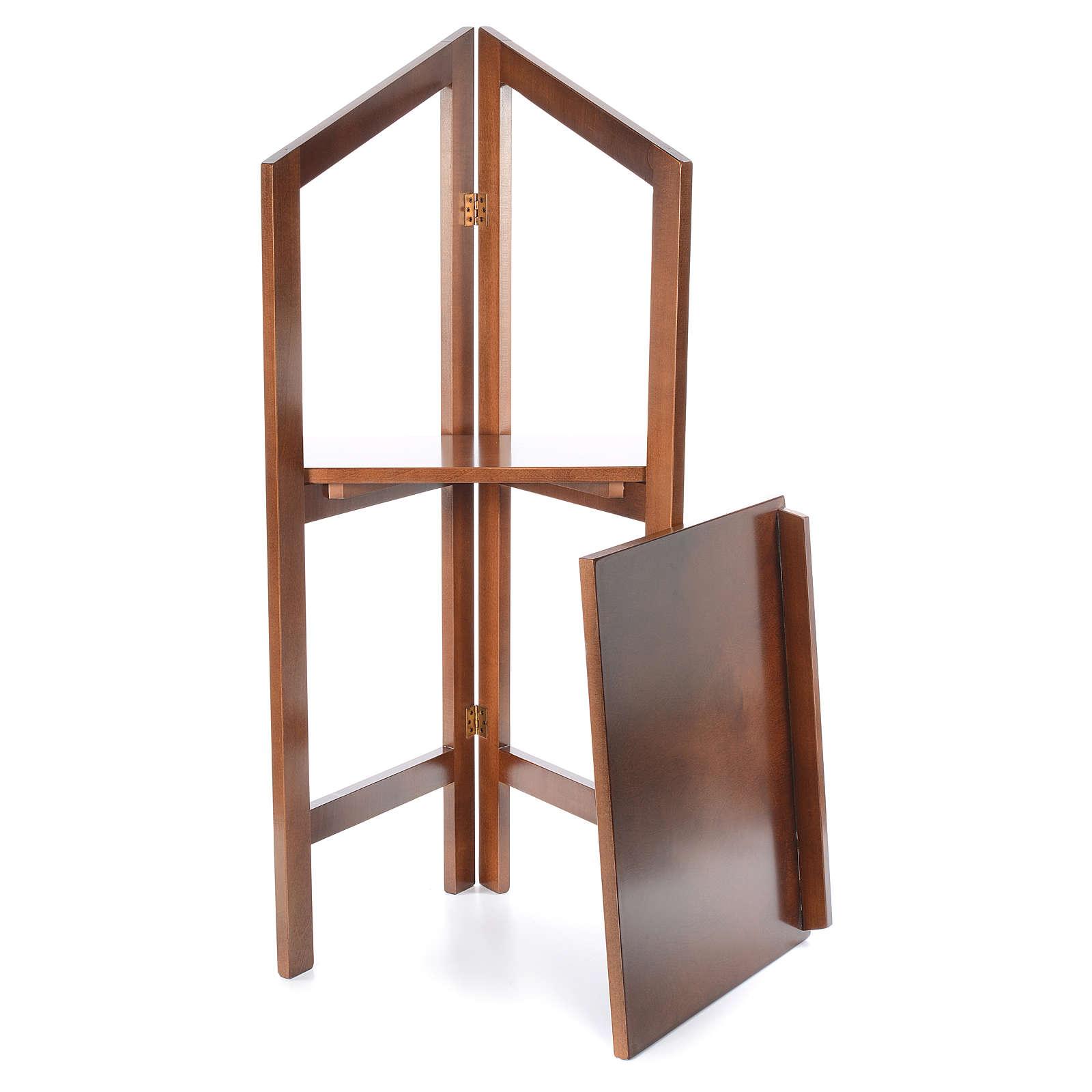 Estante de leitura dobrável madeira de faia 4