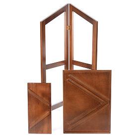 Estante de leitura dobrável madeira de faia s5