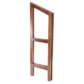 Estante de leitura dobrável madeira de faia s7