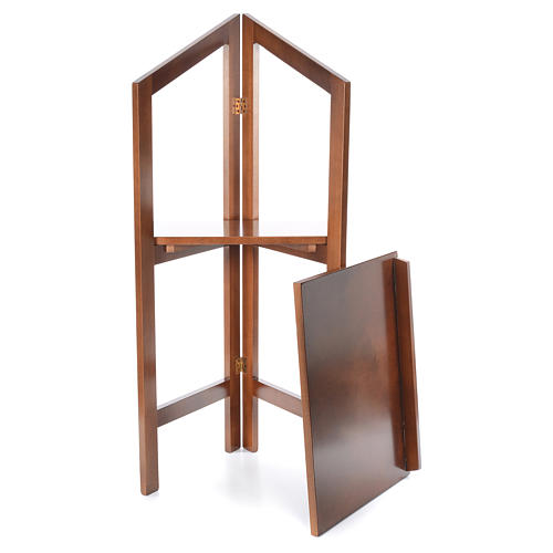 Estante de leitura dobrável madeira de faia 6