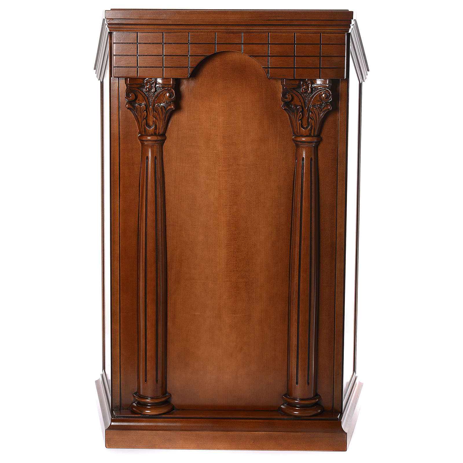 Ambona z kolumnami drewno orzechowe 4