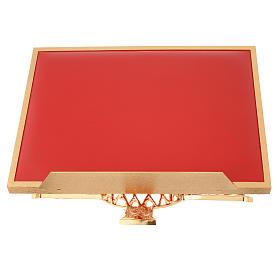 Book stands: Atril de mesa giratorio latón y simil cuero