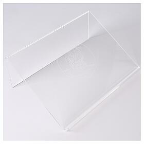 Atril plexiglás con Cordero de la Paz 25x35 cm  s1