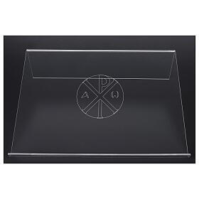 Estante de mesa em acrílico cristograma XP 45x30cm s3