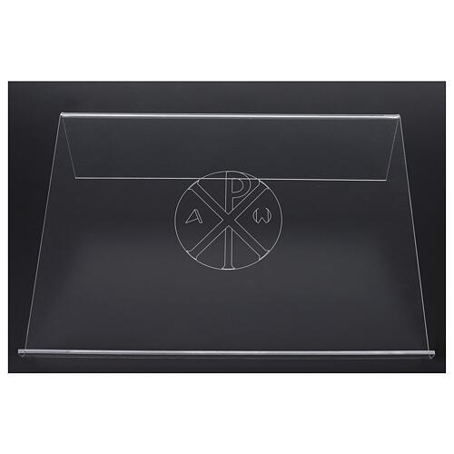 Estante de mesa em acrílico cristograma XP 45x30cm 3