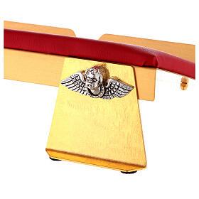 Leggio da mensa bicolore 38x25 cm fatto a mano s2