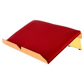 Leggio da mensa bicolore 38x25 cm fatto a mano s3