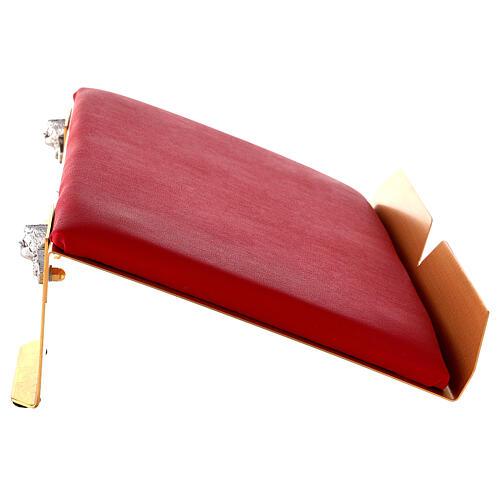 Leggio da mensa bicolore 38x25 cm fatto a mano 5