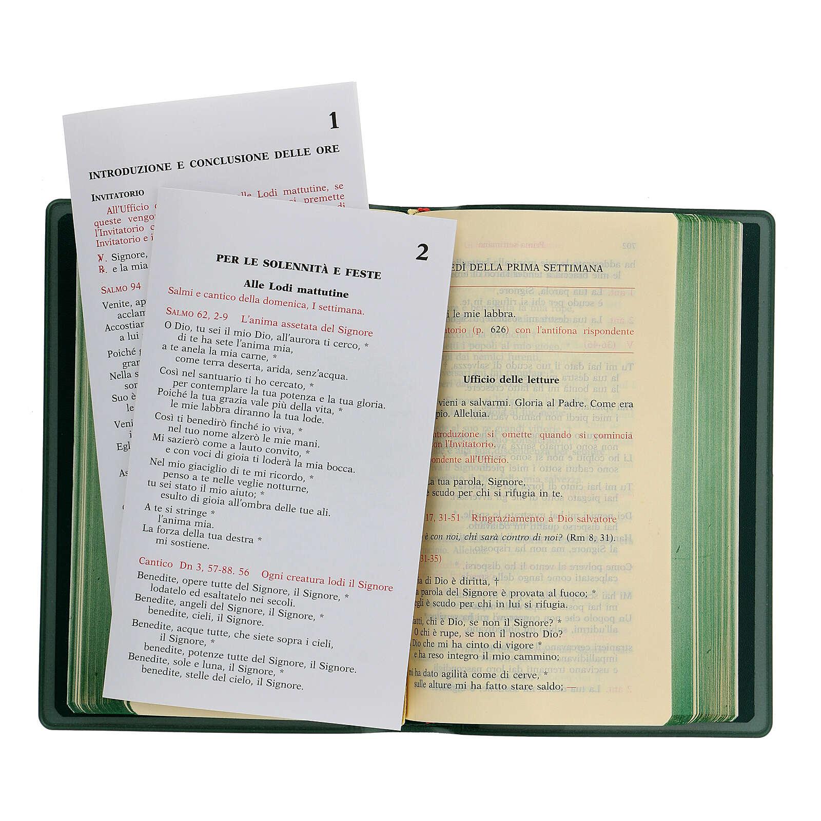 Liturgie des Heures, volume 1 ITALIEN 4