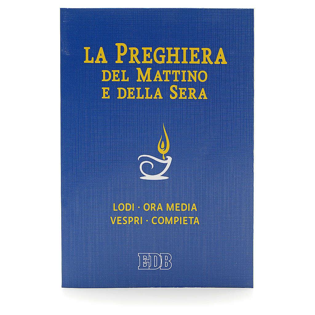 Prière du matin et du soir couverture bleue ITALIEN 4