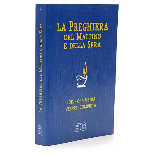 Prière du matin et du soir couverture bleue ITALIEN 2