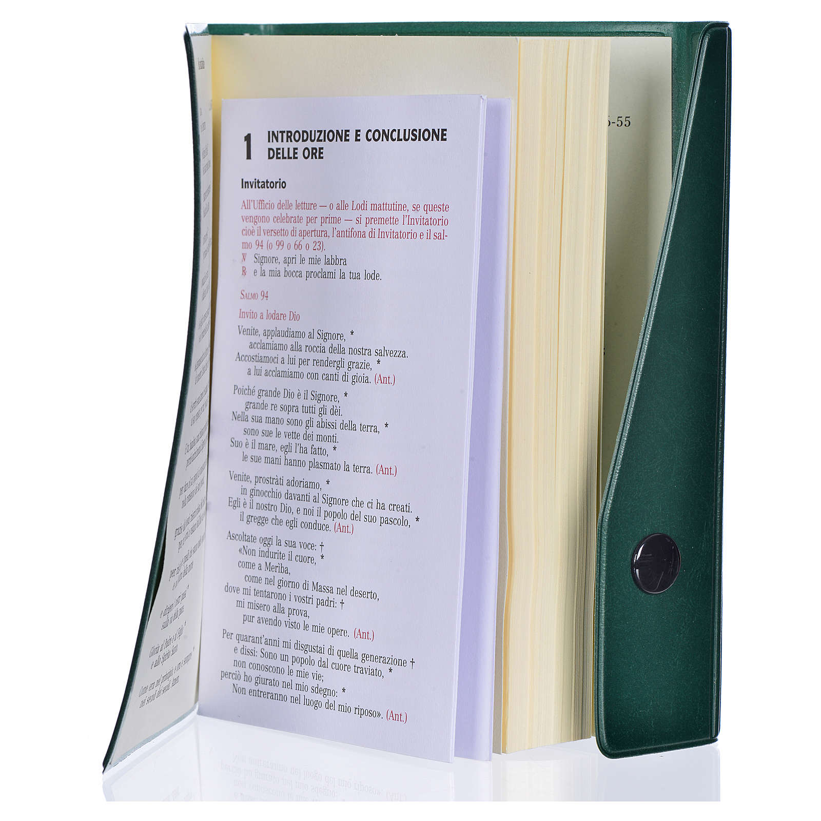 Liturgie des heure, vol. unique édition de poche ITALIEN 4