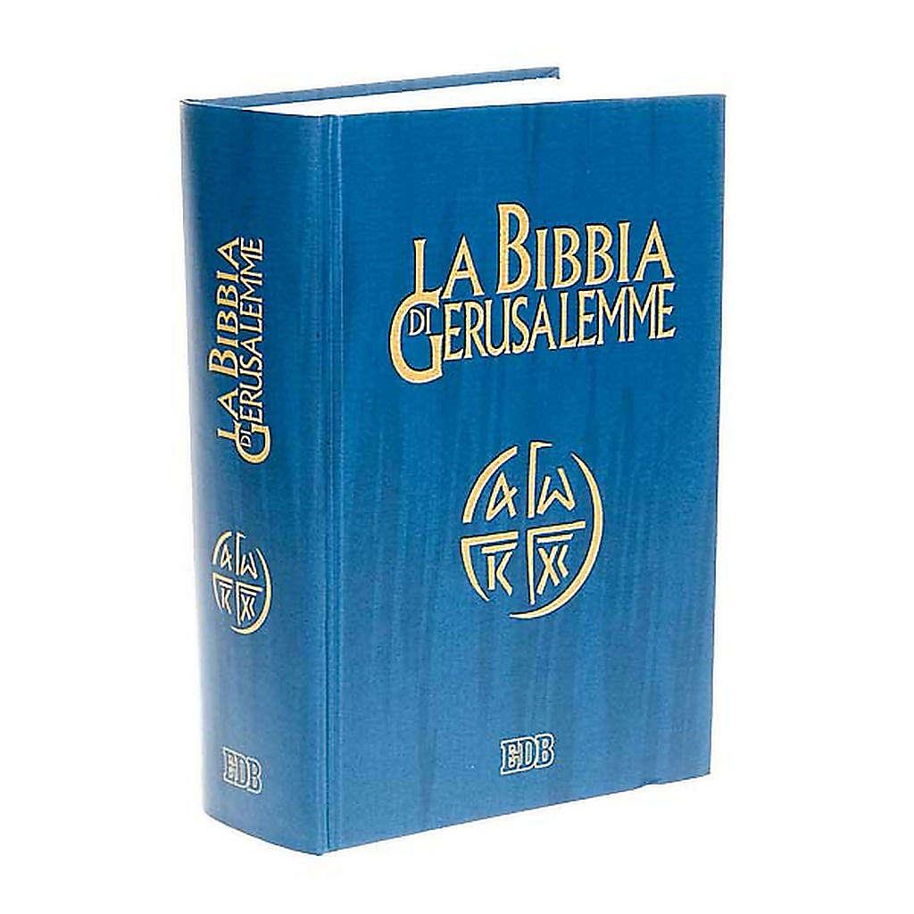 Biblia de Jerusalén estudio LENGUA ITALIANA 4