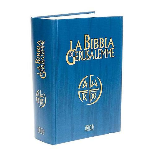 Biblia de Jerusalén estudio LENGUA ITALIANA 1