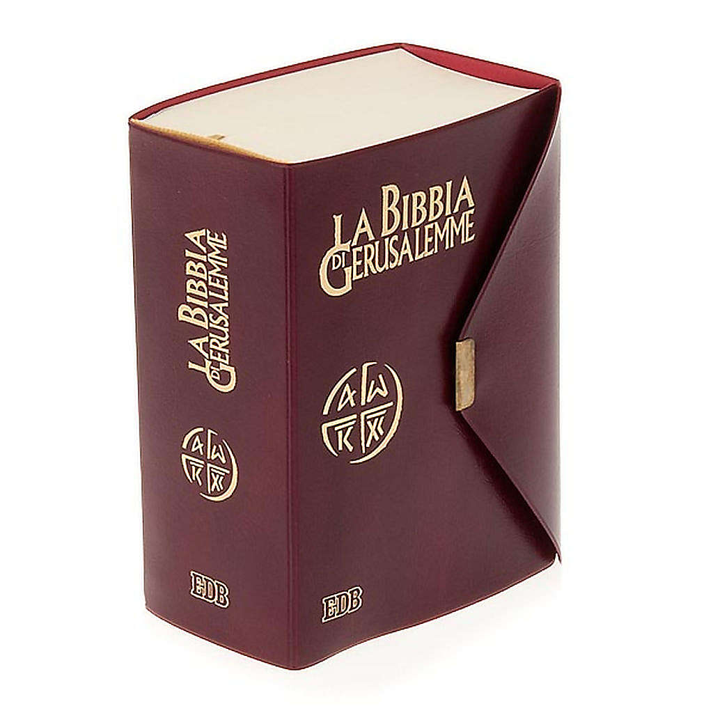 Biblia de Jerusalén de bolsillo LENGUA ITALIANA 4