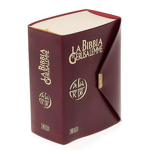 Biblia de Jerusalén de bolsillo LENGUA ITALIANA 1