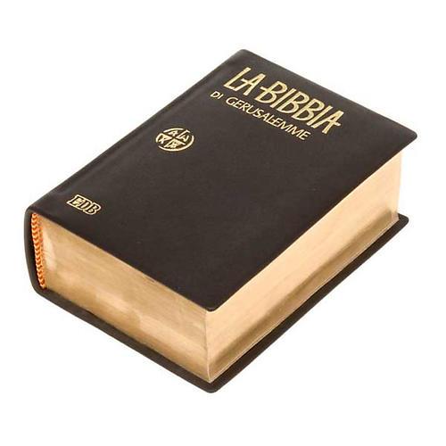 Bibbia Gerusalemme tascabile pelle oro vecchia traduzione 2