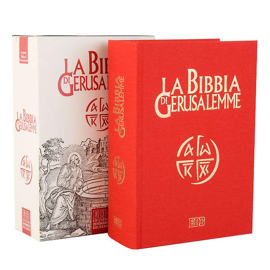 Bible Jérusalem, nouvelle traduction, toile rouge ITA 4