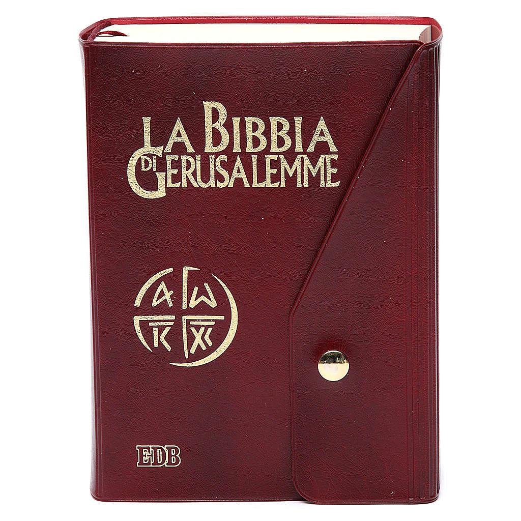 Biblia de Jerusalén símil piel LENGUA ITALIANA 4