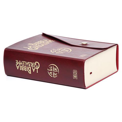 Bibbia Gerusalemme similpelle con bottone 3