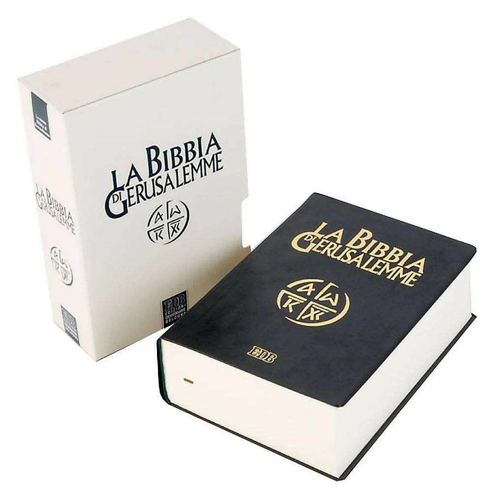 Bible Jérusalem, nouvelle traduction, semi-cuir ITA 4