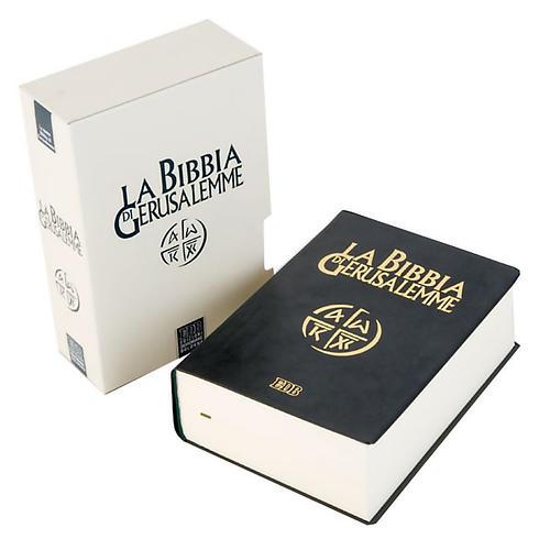Bible Jérusalem, nouvelle traduction, semi-cuir ITA 1