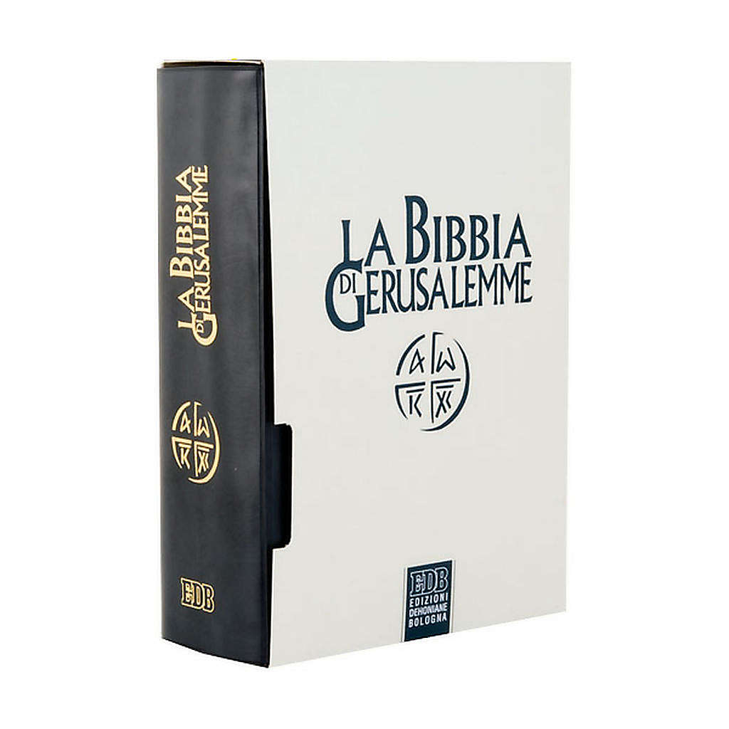 Bible of Jerusalem 2009 edition, Leatherette cover 4