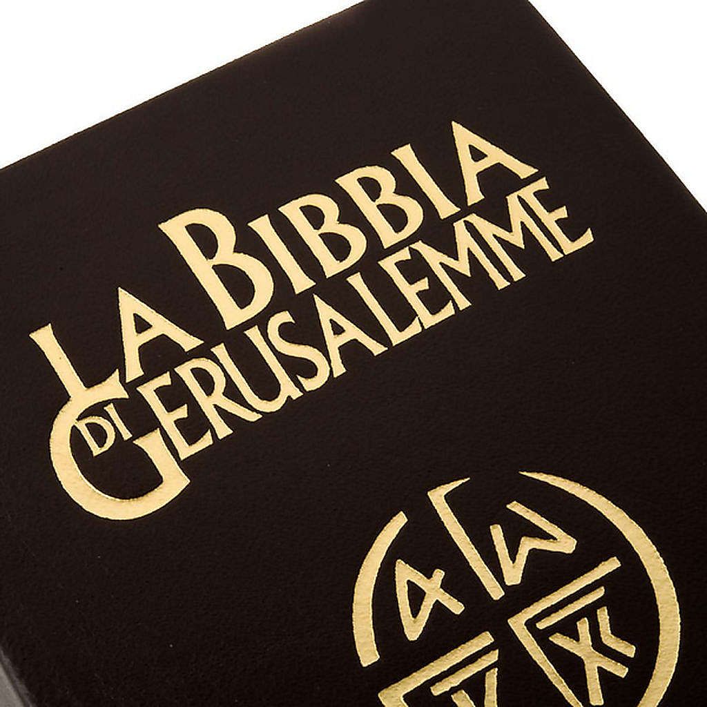Biblia Jerusalén verdadera piel Nueva Trad. LENGUA ITALIANA 4