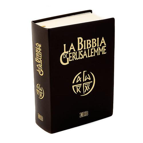 Biblia Jerusalén verdadera piel Nueva Trad. LENGUA ITALIANA 1