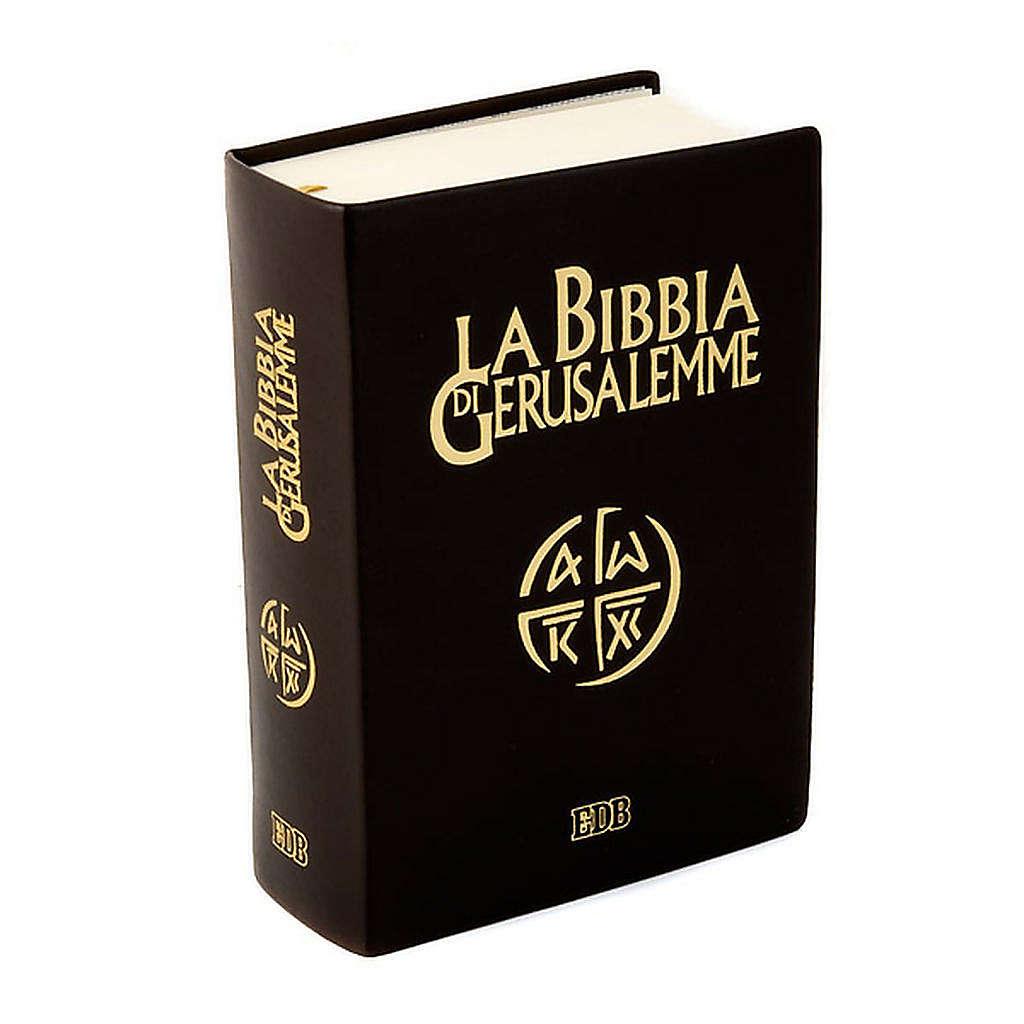 Bible Jérusalem, nouvelle traduction, cuir ITA 4