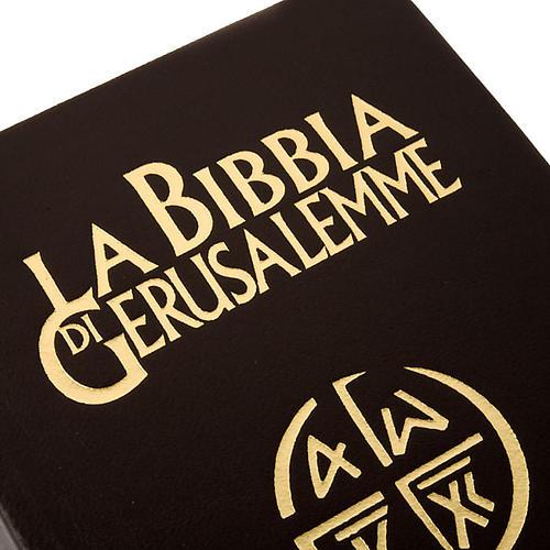 Bible Jérusalem, nouvelle traduction, cuir ITA 2