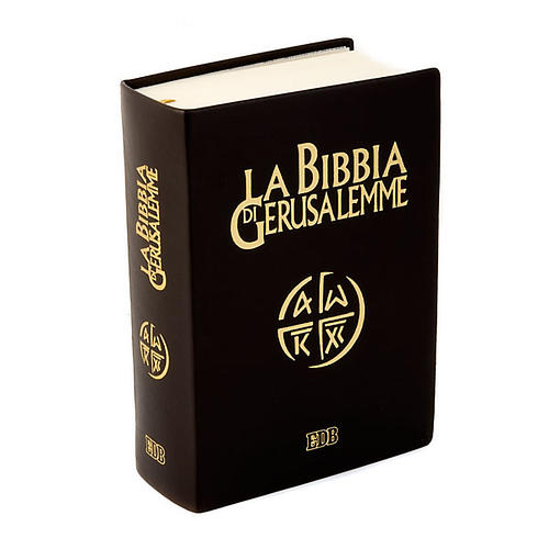 Bibbia Gerusalemme vera pelle Nuova Traduzione 1
