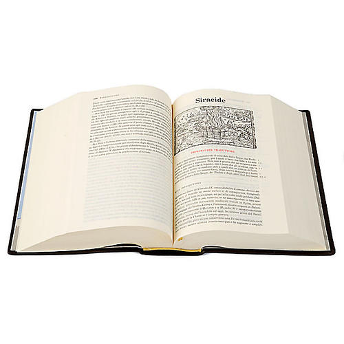 Bibbia Gerusalemme vera pelle Nuova Traduzione 3